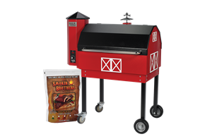 "Smokin Brothers Grill Traditional 30"" ""Barn-B-Que"""