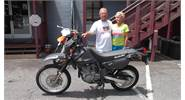 Lisa and Todd are excited about their 2014 Suzuki DR650!!