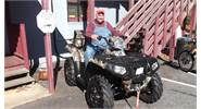 Max is going to have FUN on his 2015 Polaris Sportsman 1000!!