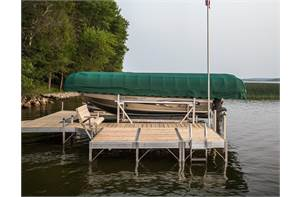 Aluminum Vertical Boat Lift