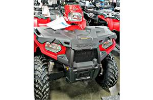 SPORTSMAN 450 H.O. EPS - INDY RED