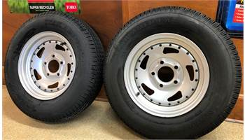 2018 Trailer Wheels/Tires - 5 Lug
