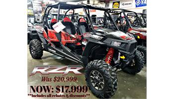 2018 RZR XP-4 1000 EPS - Black Pearl