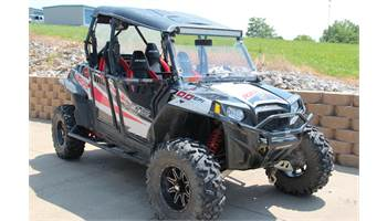2013 RZR® XP 4 900 EPS Black/White/Red LE