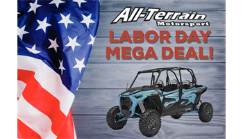 2019 RZR XP® 4 1000 Ride Command - Sky Blue