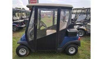 2011 Club Car Precedent 48v Blue, Doorworks Enclosure