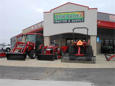 Blue Valley Tractor