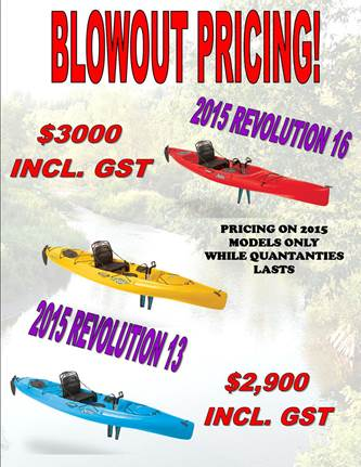 Hobie Blowout Pricing