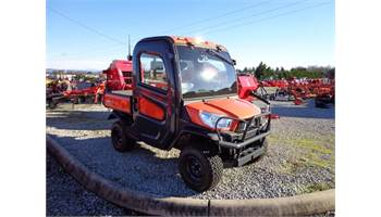 RTV-X1100C - Kubota Orange w/ HD Work Site Tires