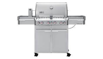 2019 Weber Summit S-470 4 burners Propane Grill Stainless Steel