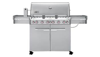2019 Weber Summit S-670 6 burners Propane Grill Stainless Steel