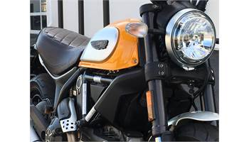 2015 Scrambler Icon Yellow
