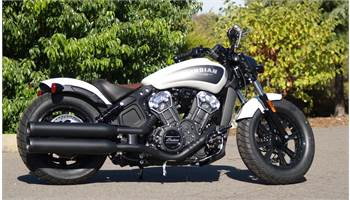 2019 Scout® Bobber ABS - White Smoke
