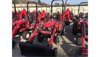 2018 eMAX22 Gear Drive W/ Loader & Backhoe