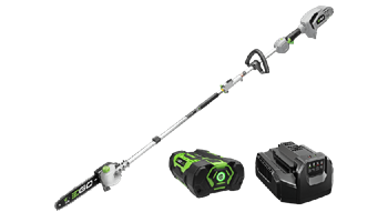 "MPS1001 Power+ Multi-Head Combo Kit: 10"" Pole Saw & Powerhead with 2.5Ah Battery and Standard Charge"