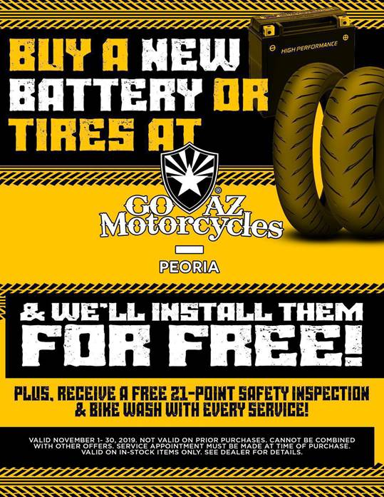Free Tire and Battery FLYER