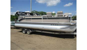 2009 250 Grand Majestic 10' Wide PTX With A 250 HP Suzuki Motor And Trailer