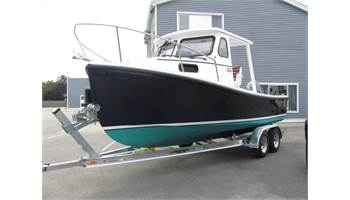 2019 22'  Sisu  Hardtop Downeast Cruiser ..  Yamaha ..  Trailer