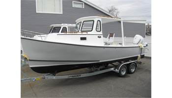 2019 24'  Seaway HardTop Cruiser with Open Sides ..   Honda 4-S  ..  Trailer