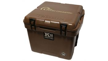 Summit 30QT Mud Brown w/Duck Unlimited Decal