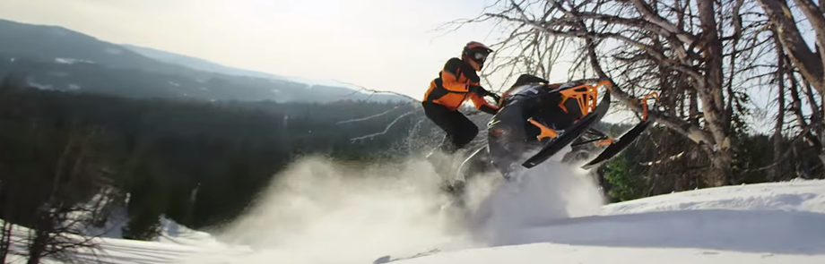 2019 Arctic Cat Snowmobile Jump
