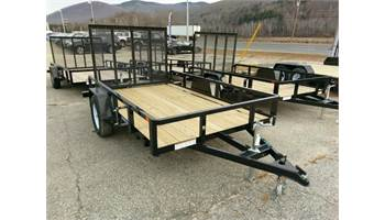 2019 6X10 Tube Top Utility Trailer