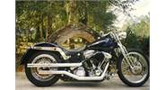 Custom Softail with modified Springer frontend