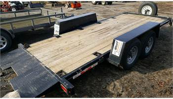 ILUT 18' Heavy Duty Equipment Trailer