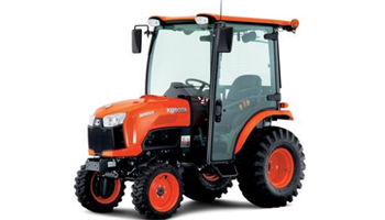 B2650HSDC, Kubota tractor with intergrated cab.