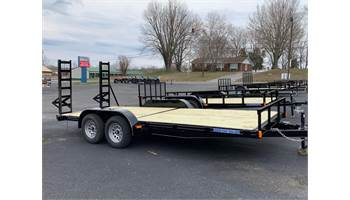 2019 18 Ft Tandem Equipment Hauler