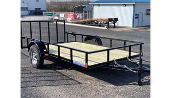 2019 6 Ft X 12 Ft Single Axle Utility Trailer 3 Ft Gate