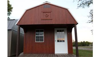 Lofted Porch - As low as $204/Month 12X24 Size
