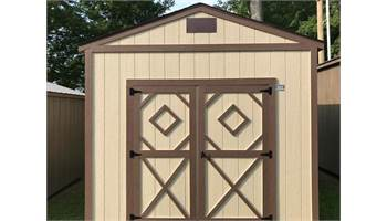 Utility Shed - As low as $78/Month 10X12 Size