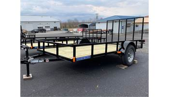 2019 6 X 12 Single Axle Utility Trailer 4 ft Gate