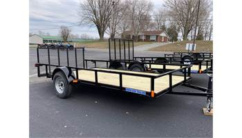 2019 6 X 14 Single Axle Utility Trailer 3 Ft Gate