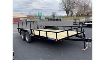 2019 6 X 16 Ft Tandem Axle Utility Trailer