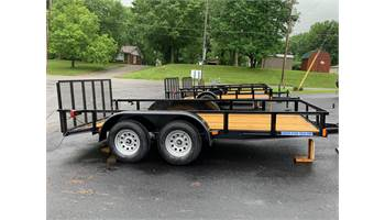 2019 6 X 14 Ft Tandem Axle Utility Trailer