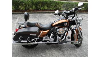 2008 USED ANNIVERSARY ROAD KING CLASSIC - FLHRC