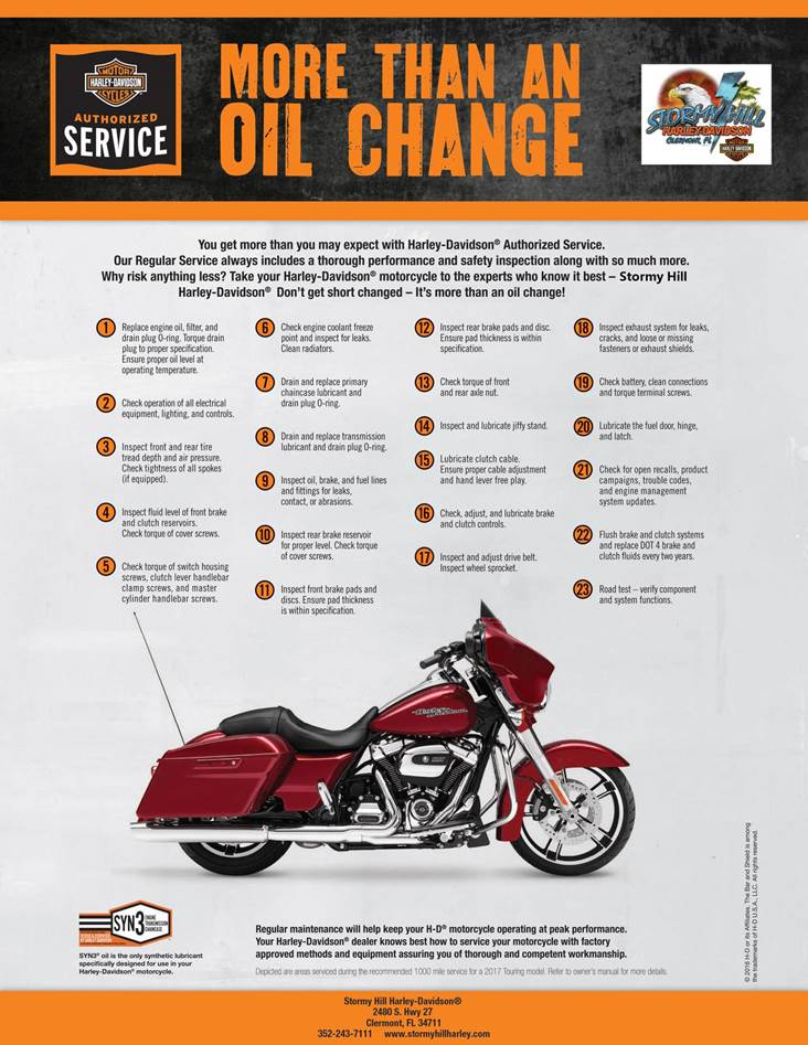 Get an engine oil change
