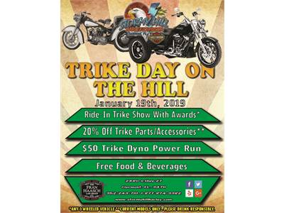 Trike Day, January 19th, 2019