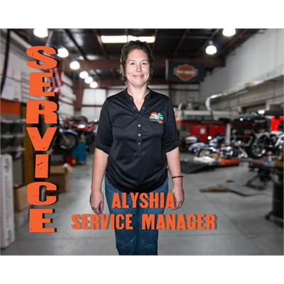 Alyshia Sargent - Service Manager