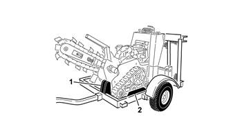 Trailer, TRX Trencher or STX Stump Grinder (22979)