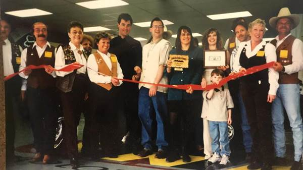 Our grand opening back in 1997