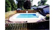 16' x 32' Radius Rectangle sport pool