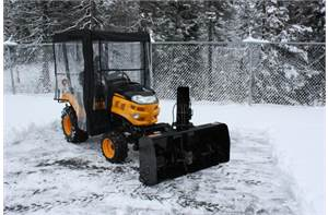 Winter Cab for Compact Tractors