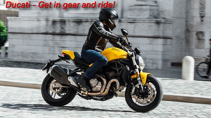 Ducati Get In Gear and Ride