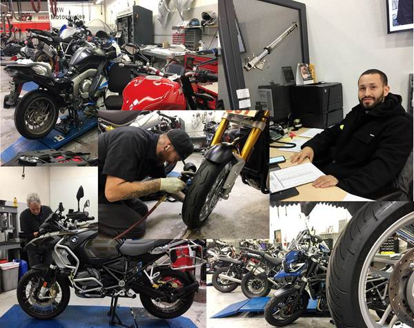 Our Service Dept. is ready willing and able to take great care of your bike!