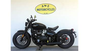 2019 Bonneville Bobber Black Demo