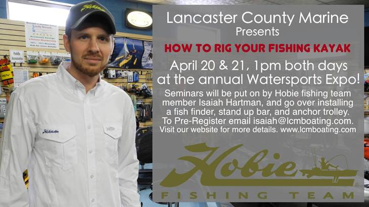 Hobie Fishing Seminar Advertiser