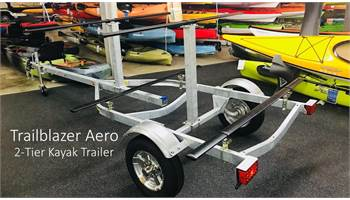2 Tier Aero Kayak Trailer